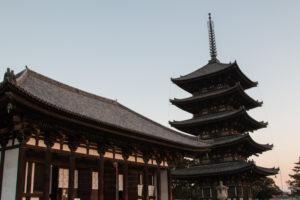 興福寺と五重塔