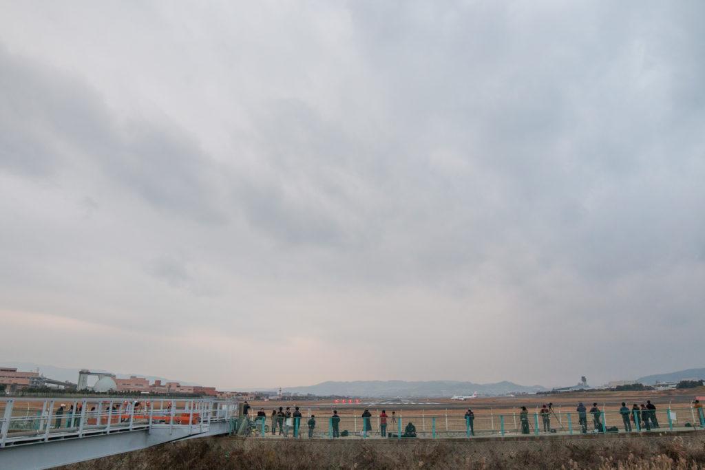伊丹空港の全景