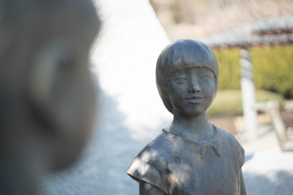 兵庫県立フラワーセンターの石像