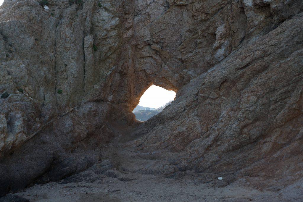 エンジェルロードの穴