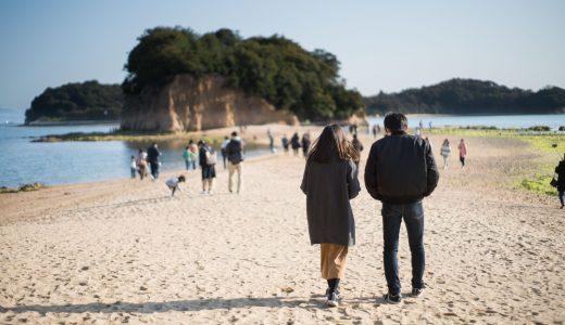 小豆島「エンジェルロード」へのアクセス・余島へ渡れる時間は?【2018年潮見表】