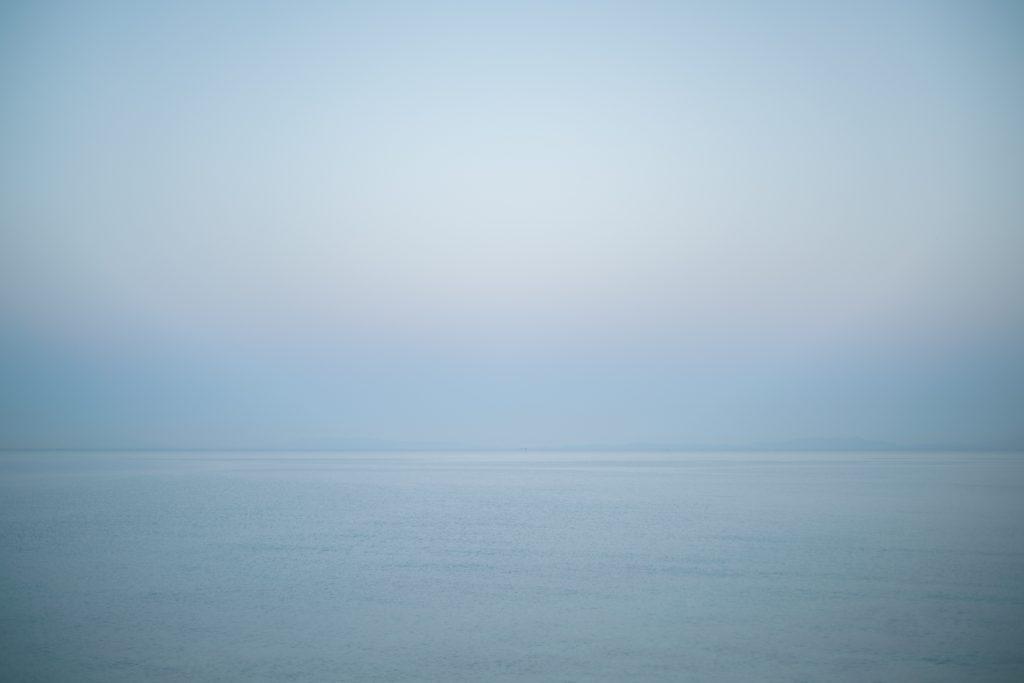 小豆島の水平線