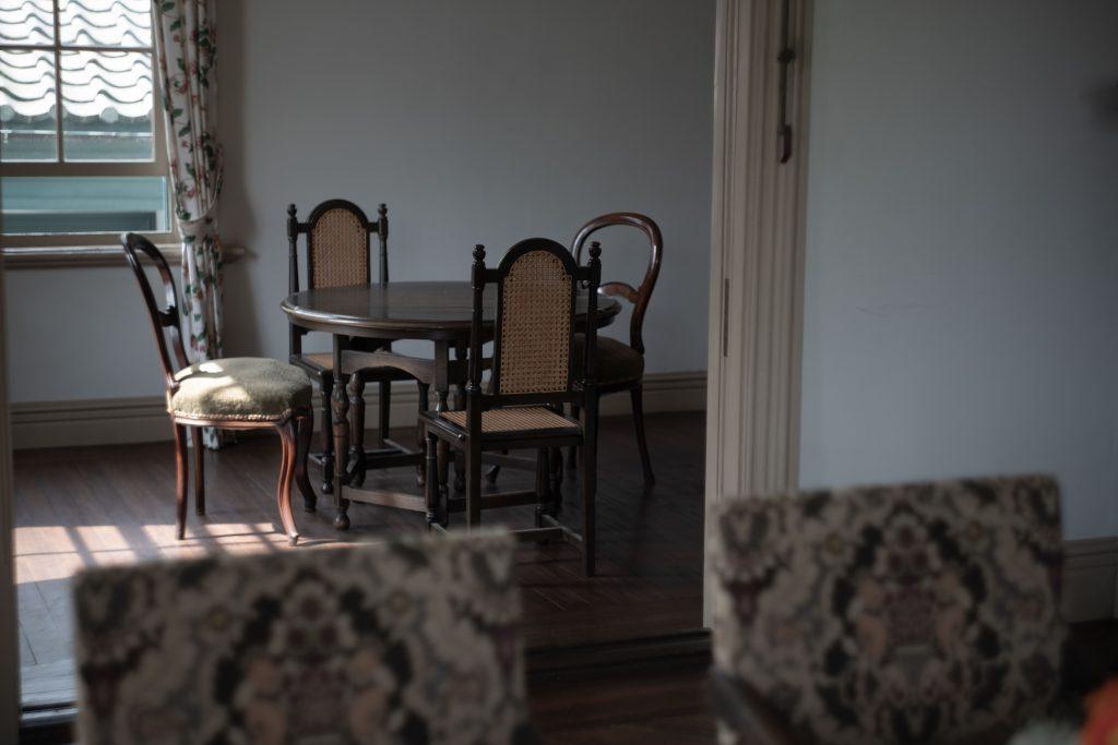 旧ハッサム住宅内部