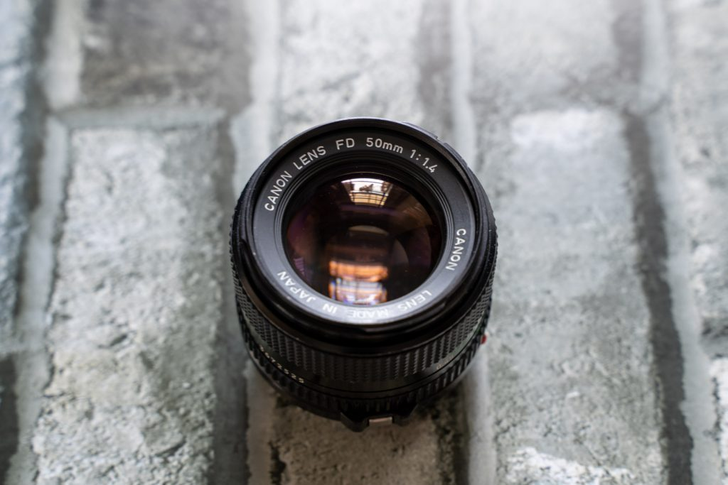 New FD50mm F1.4