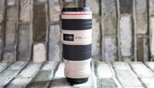 Canonの望遠ズームレンズ『EF70-200mm F4L IS USM』を半年間使ってみたのでレビューしてみた
