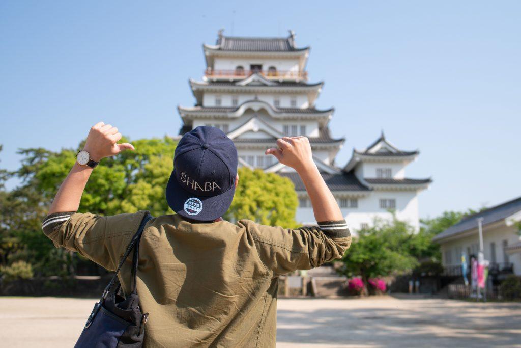 福山城とけーすけ氏