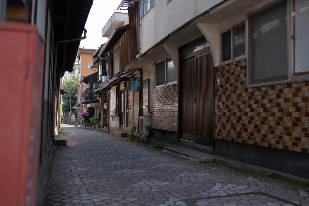鞆の浦の小道
