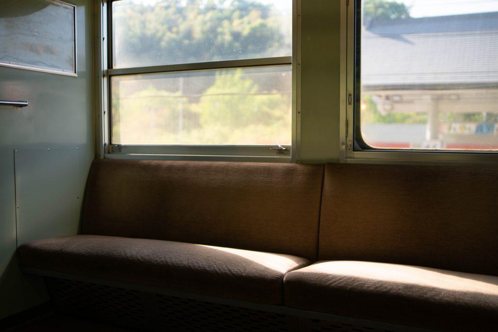 帰路の電車