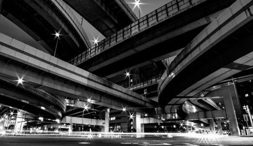 大阪夜景の定番スポット「阿波座ジャンクション」で撮影してきた【アクセス・必要機材】