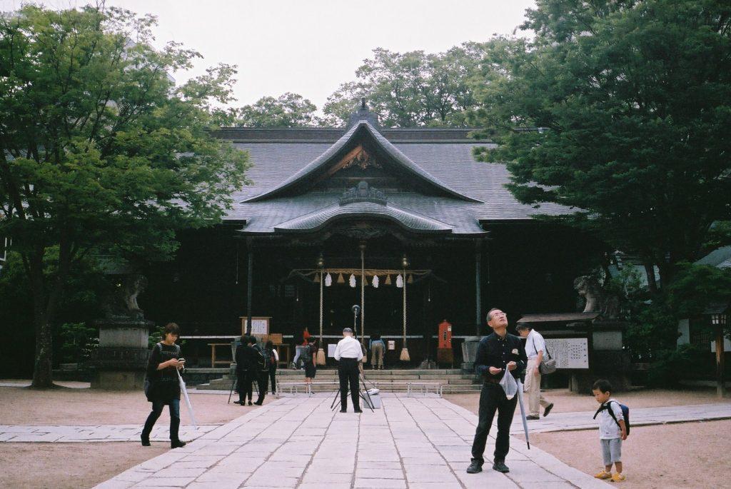 縄手通りの神社