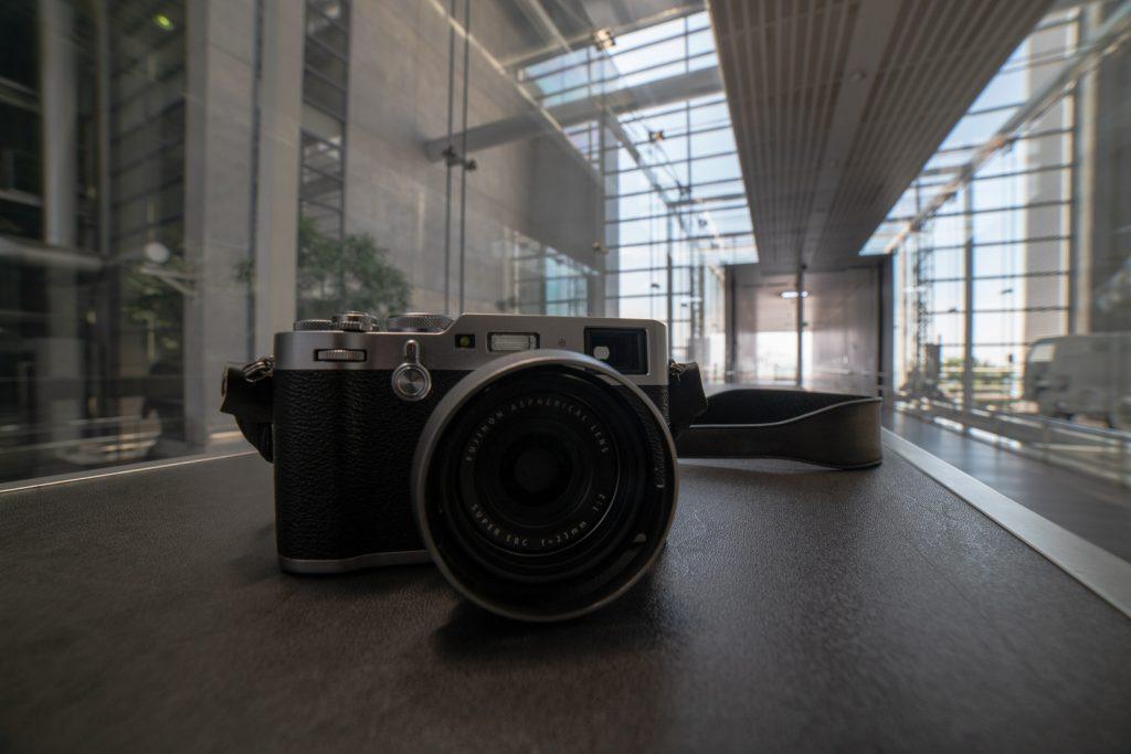 エコリウムでカメラ撮影