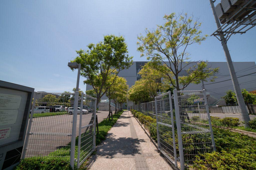 エコリウム駐車場