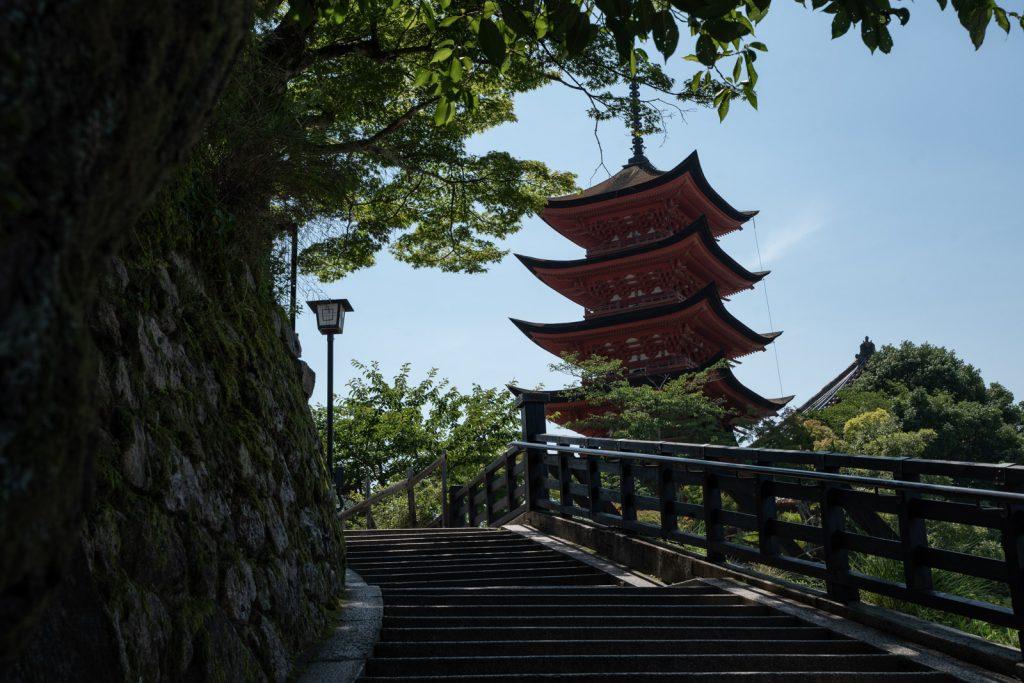宮島五重塔