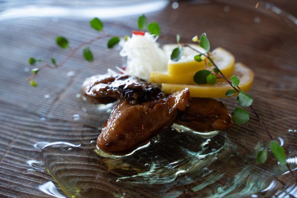 牡蠣祝の牡蠣のオイル漬け