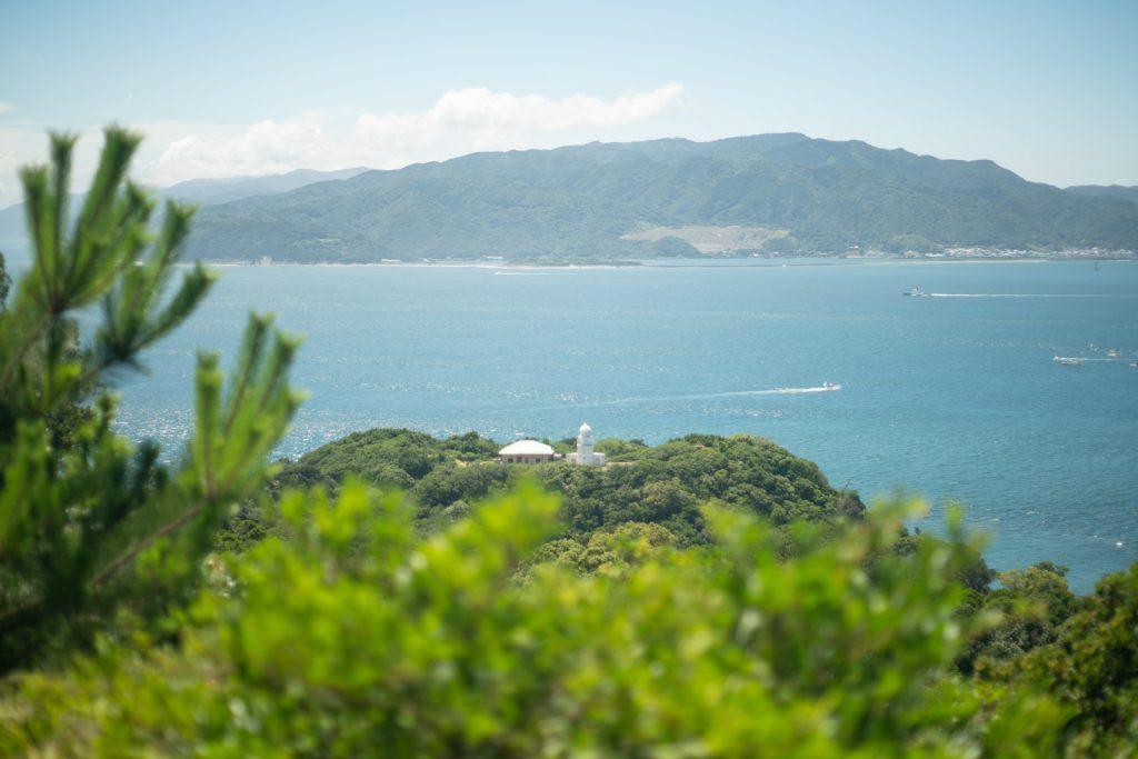 タカノス山展望台からの景色