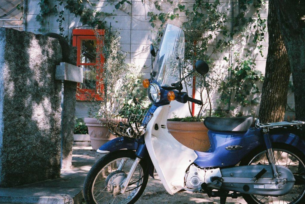 おしゃれなバイク