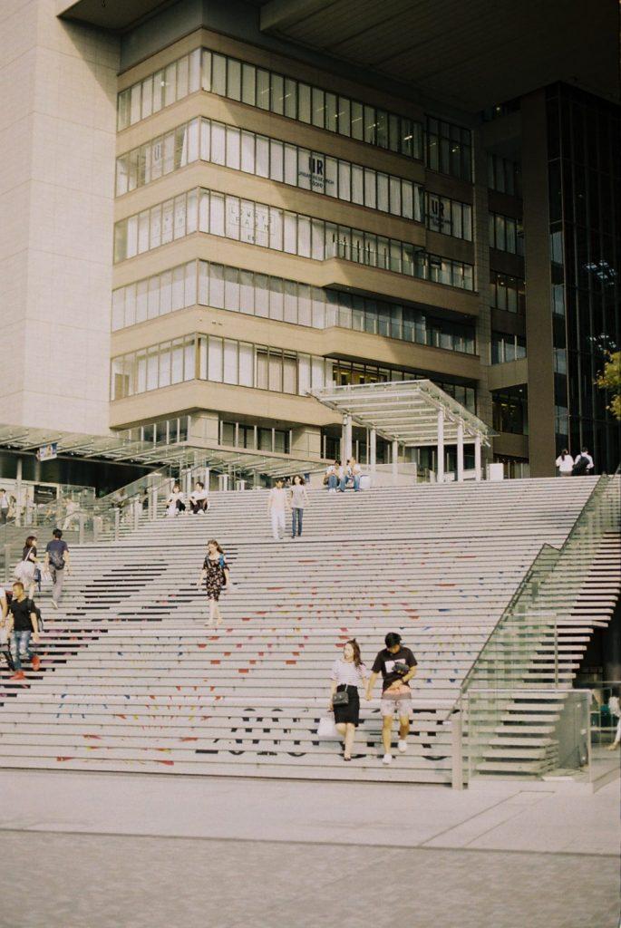 大阪駅の階段