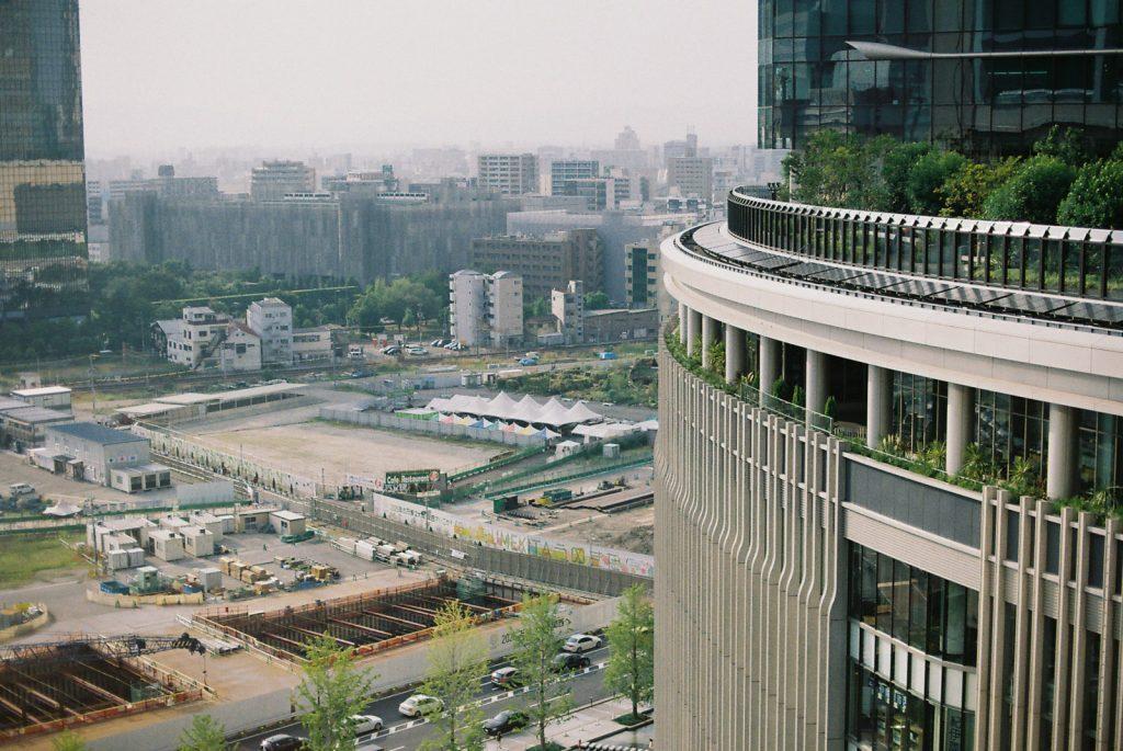 大阪駅からの景色