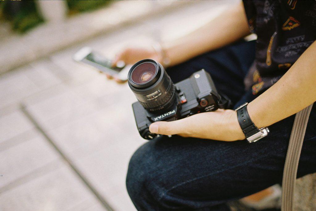 平岡さんのフィルムカメラ