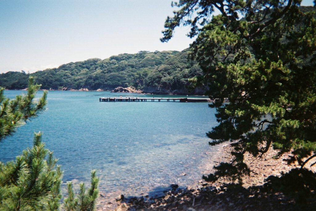 友ヶ島の桟橋