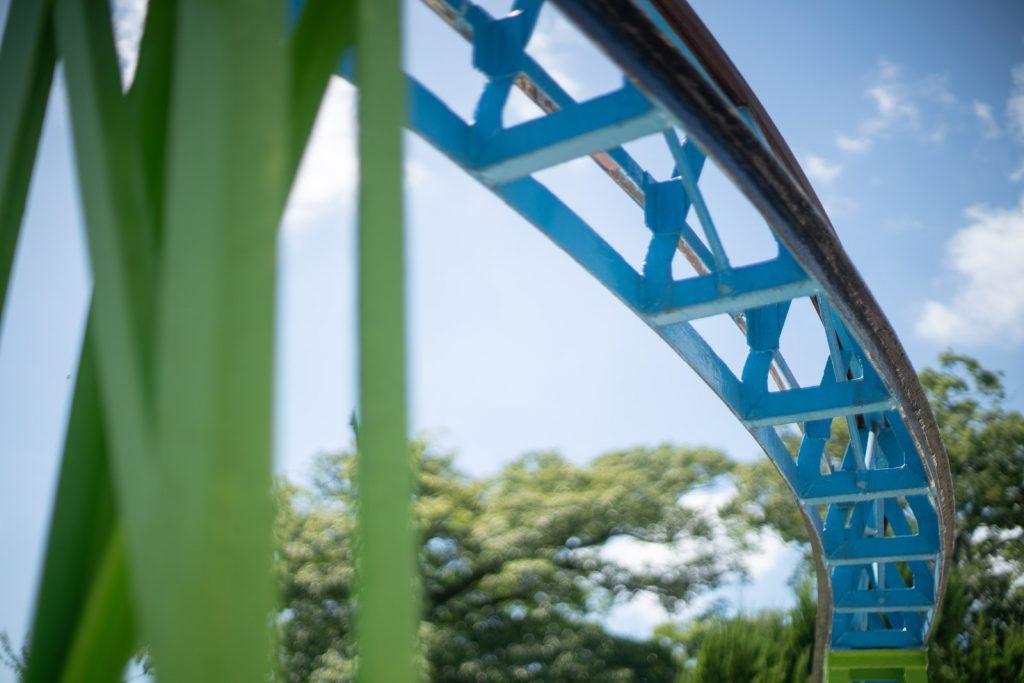 姫路市立動物園のレール