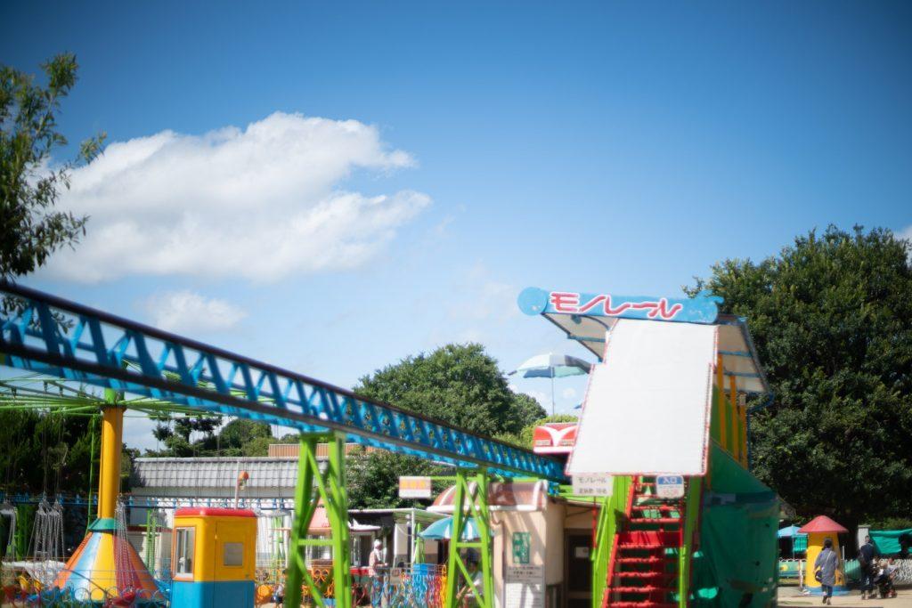 姫路動物園の遊園地