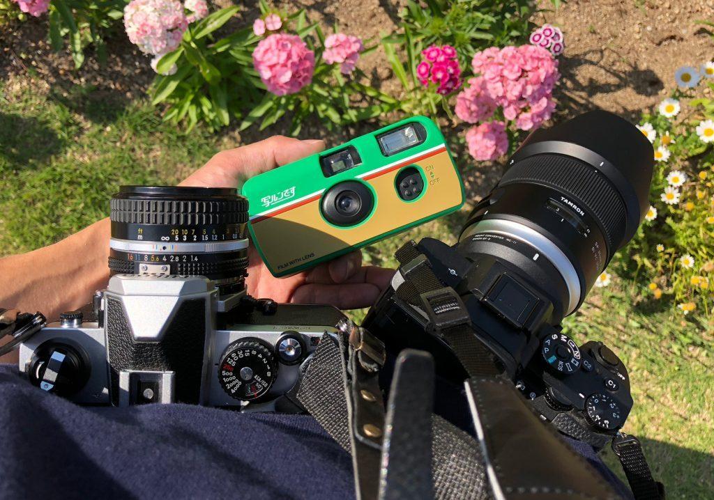 カメラ三台持ち