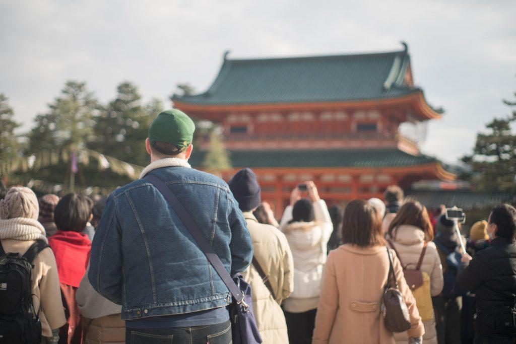 平安神宮と外国人