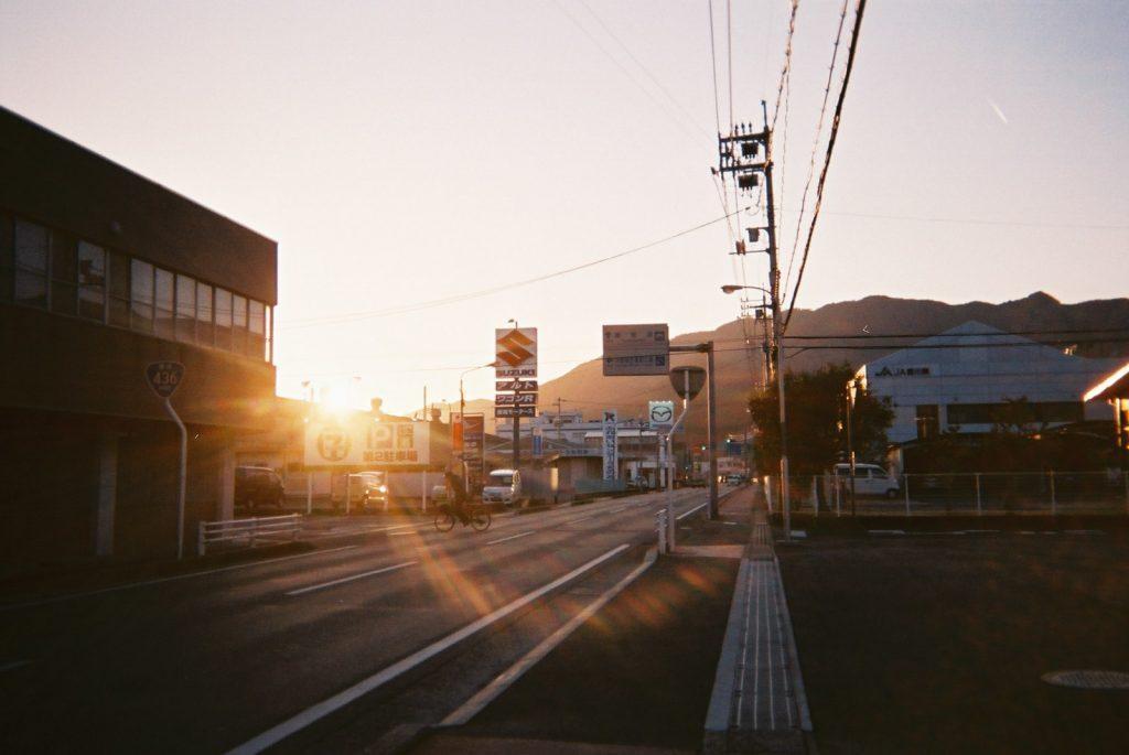 小豆島の町