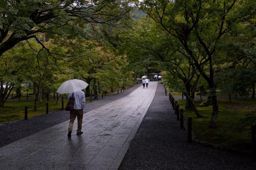 南禅寺の通路