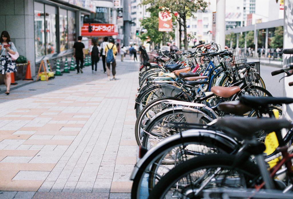 新宿の自転車