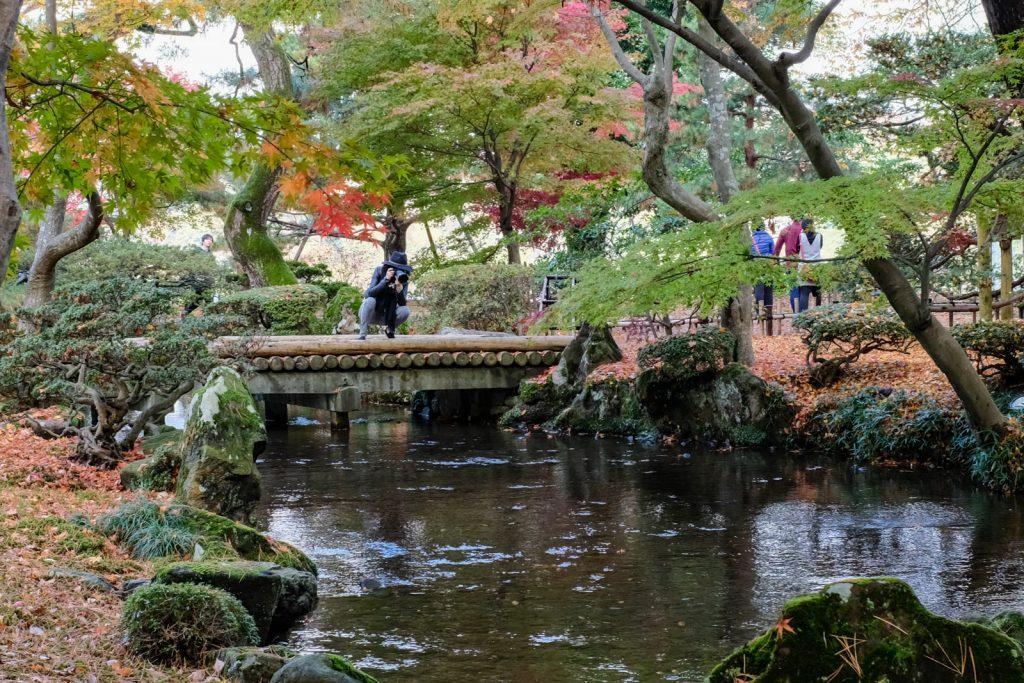 兼六園の橋