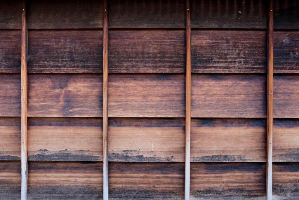 ひがし茶屋街の壁