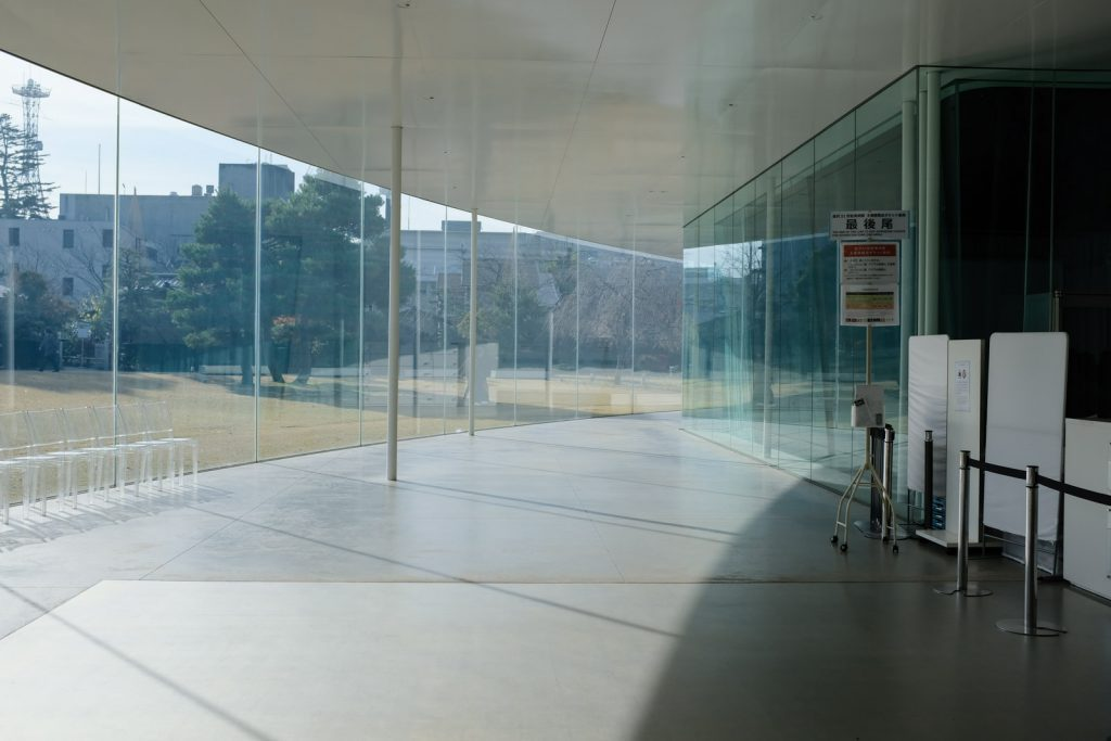 21世紀美術館ロビー