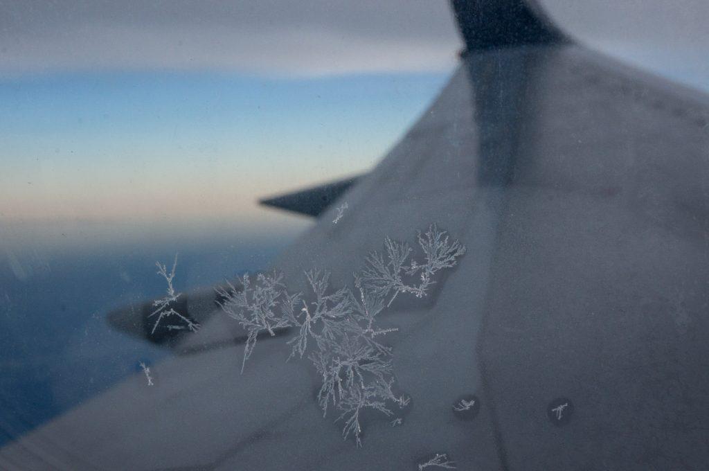 飛行機の結晶