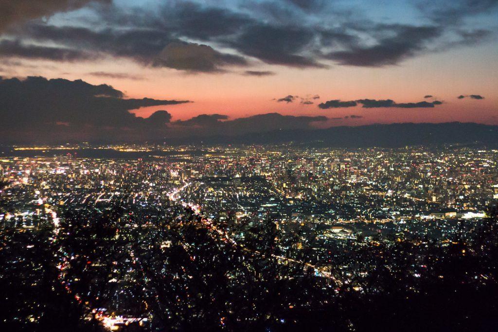 生駒山の夜景