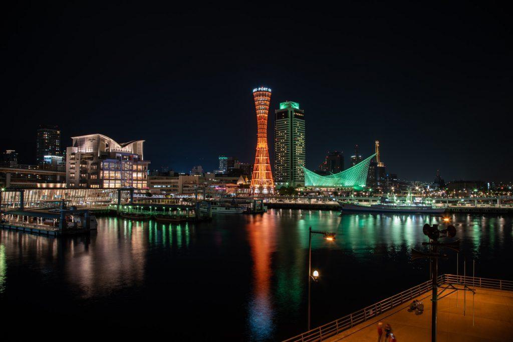 神戸の定番夜景