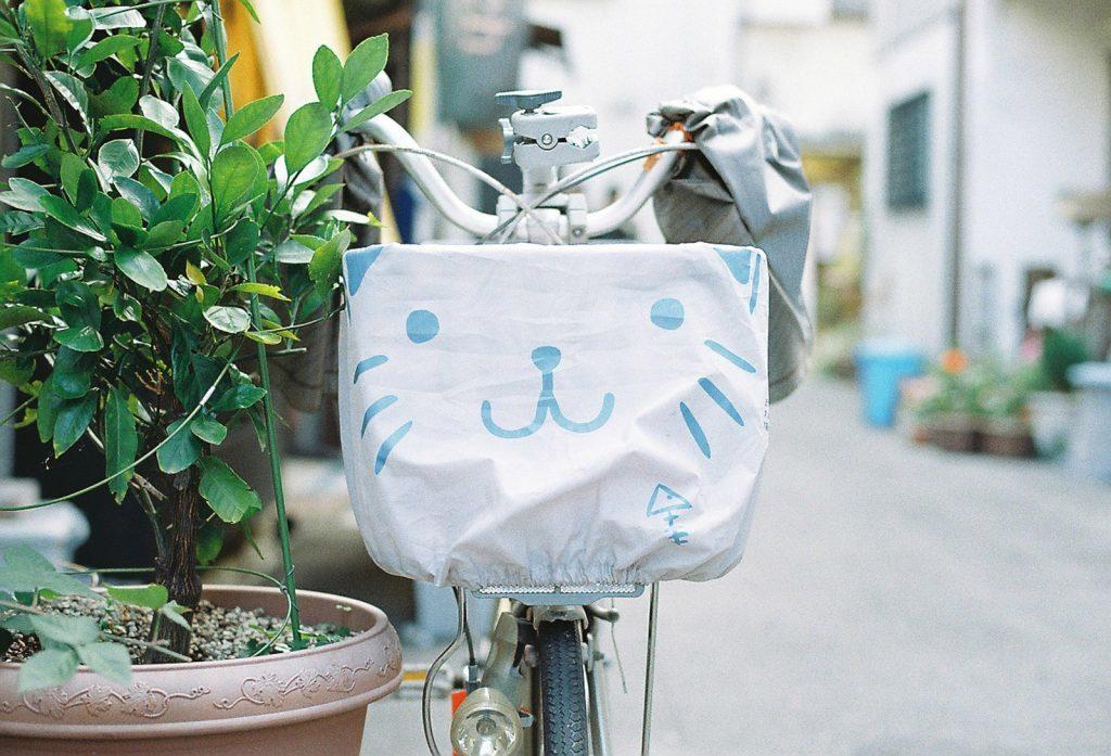 かわいい自転車カバー