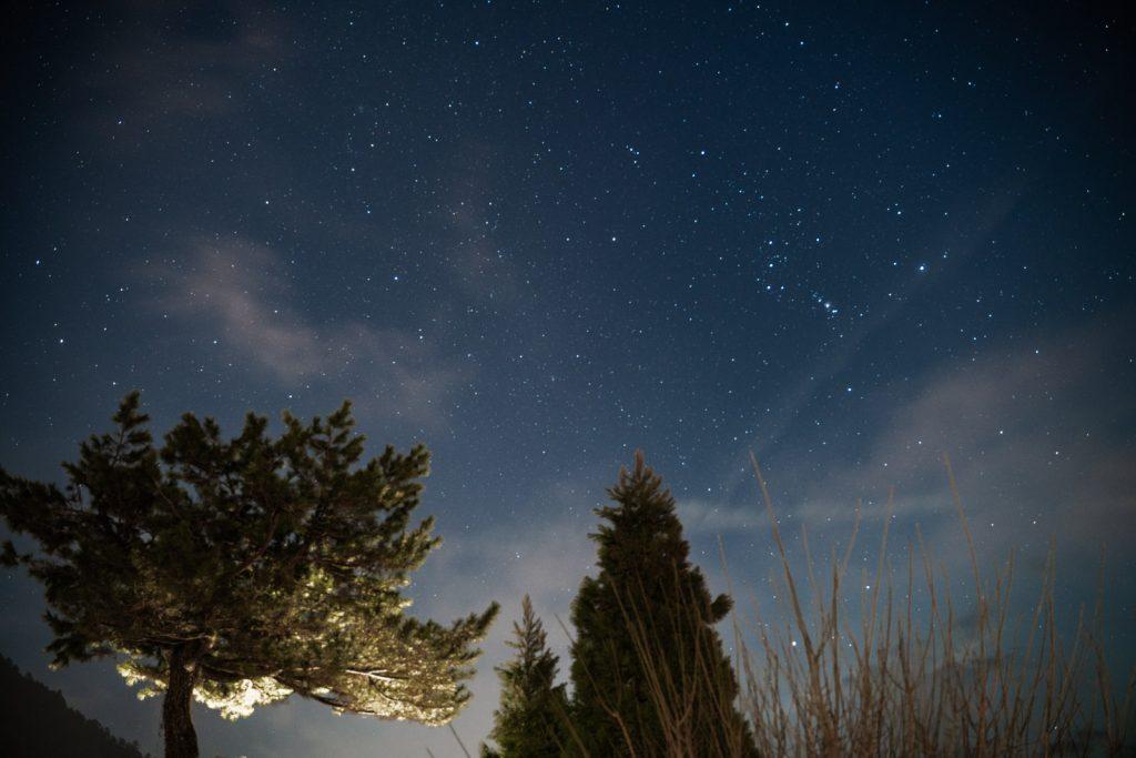 美山の星空