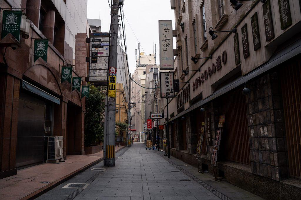 博多の裏路地