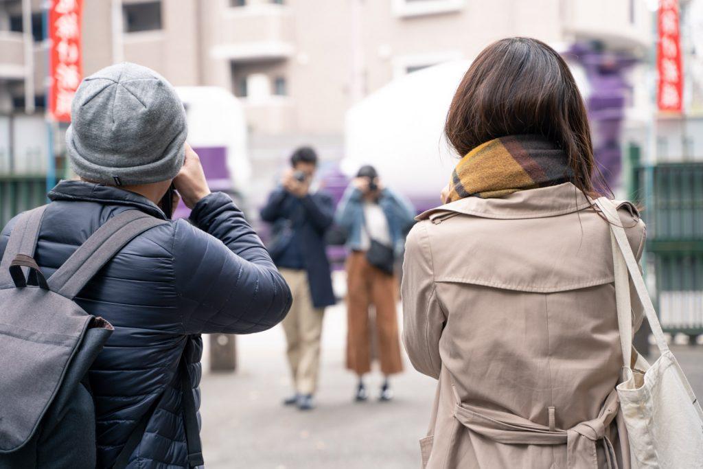 写真の撮り合いっこ