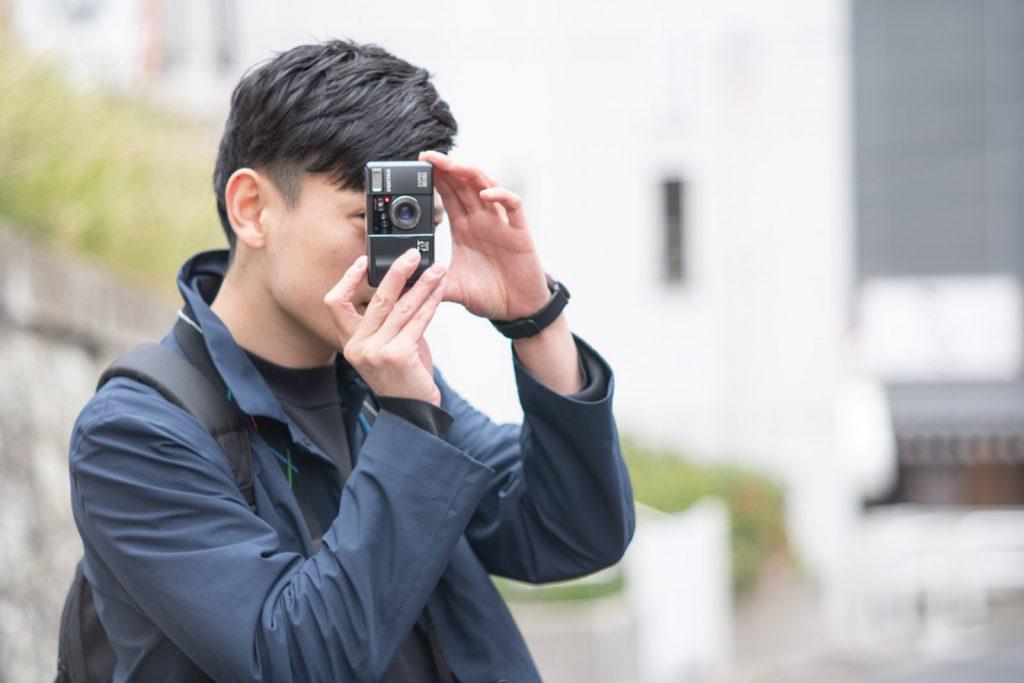 イケメンカメラマン