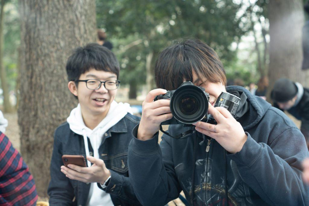 ごついカメラ
