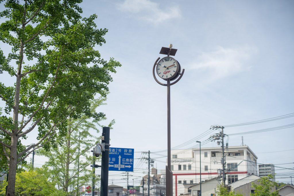 カープ時計