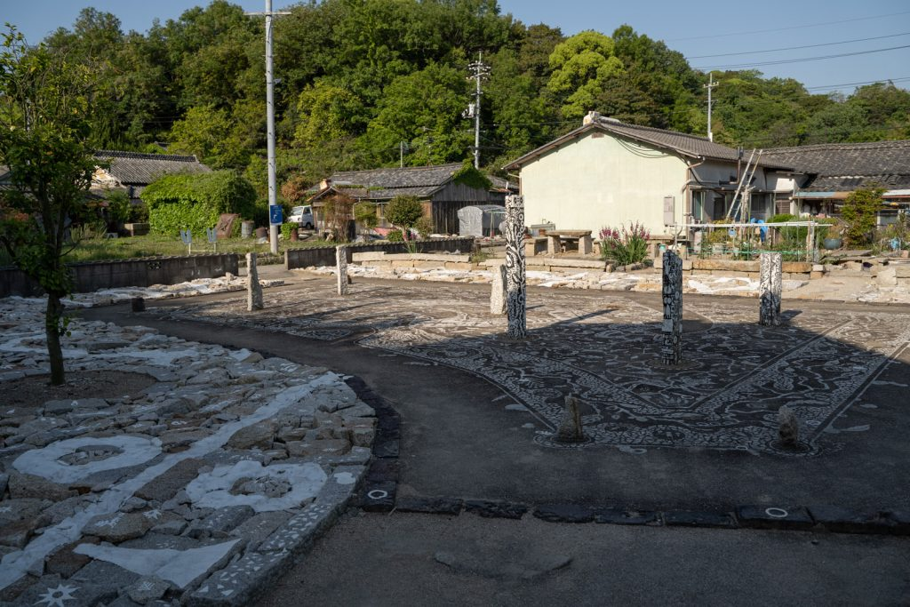 石職人の家跡