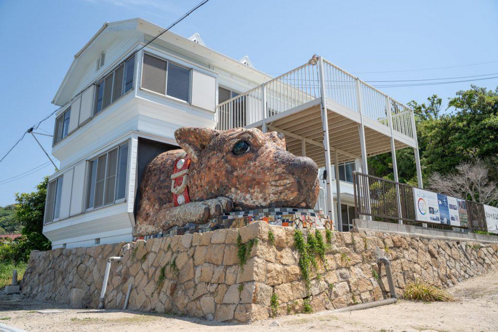 犬島の島犬