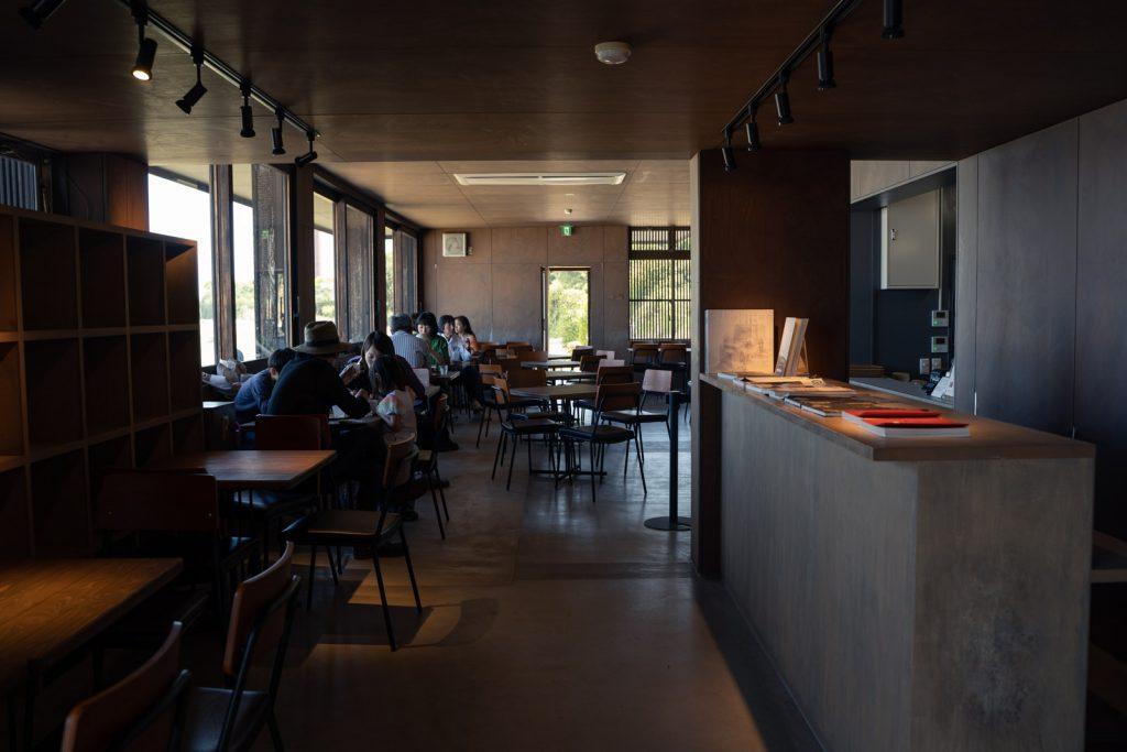 犬島精錬所美術館カフェ