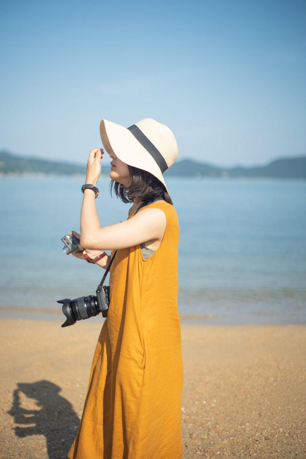 エンジェルロードとカメラ女子