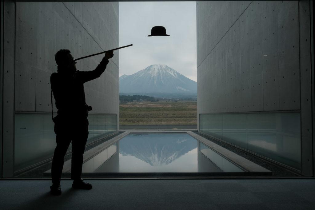 植田正治写真美術館 撮影スポット