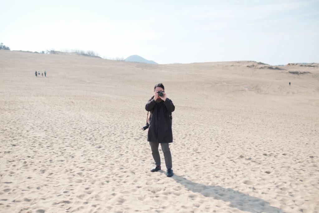 鳥取砂丘 午前中